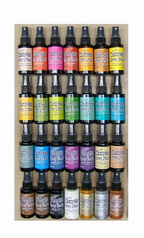 Tim Holtz Distress Spray Bundle