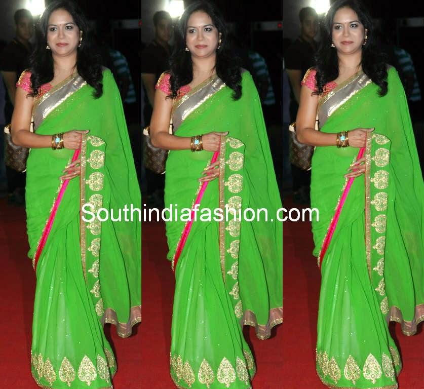singer sunitha sarees 2014