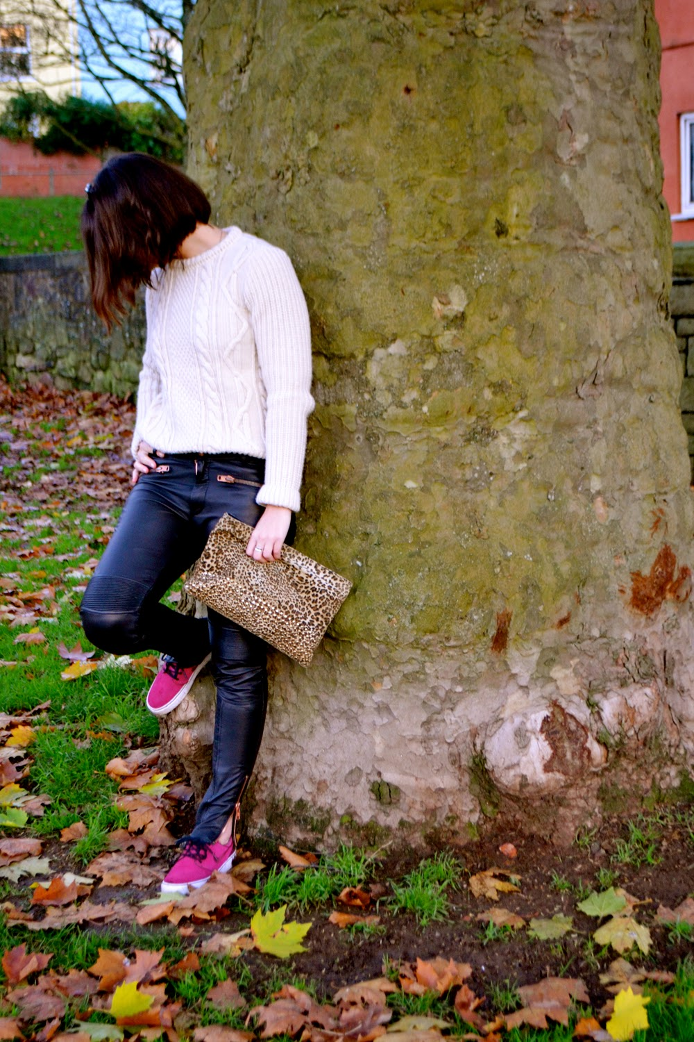 Superdry, dujouriadore, leather trousers