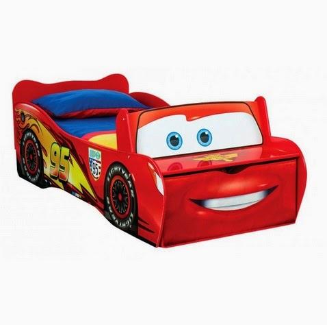 Cama con forma de coche Cars