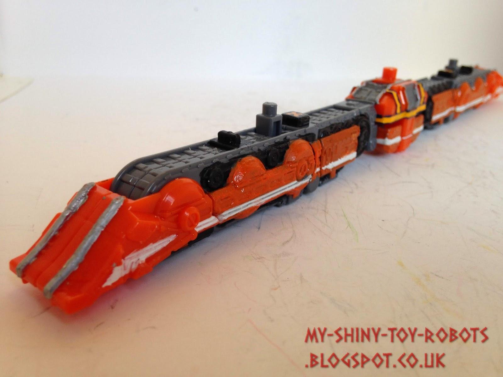 Bulldozer train front
