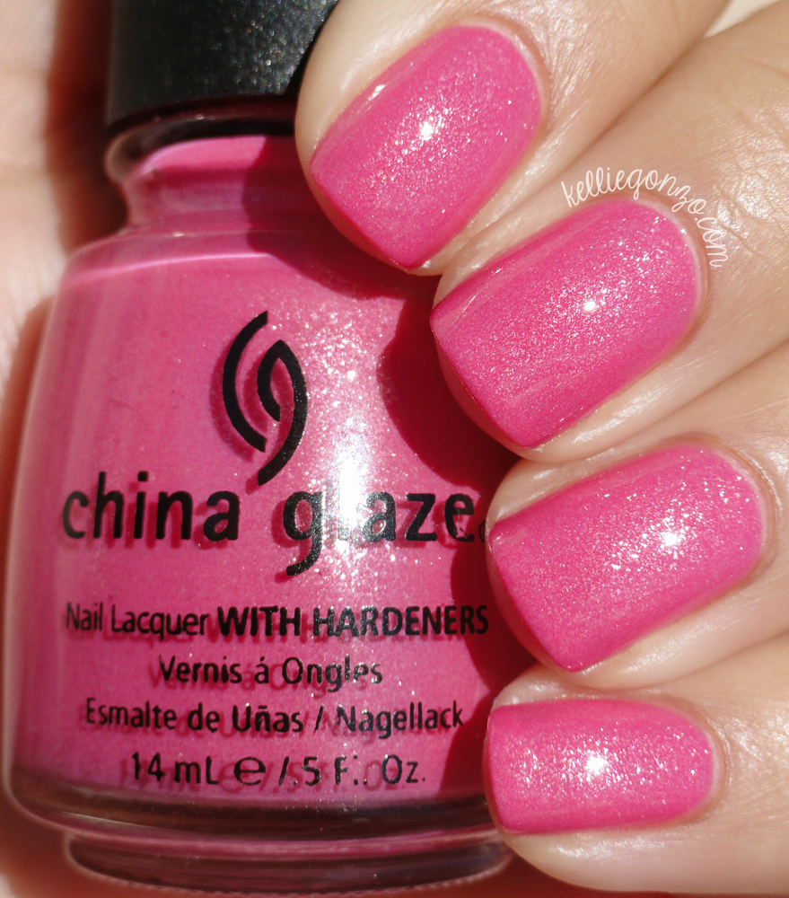 China Glaze 100 Proof Pink Tequila Toes collection