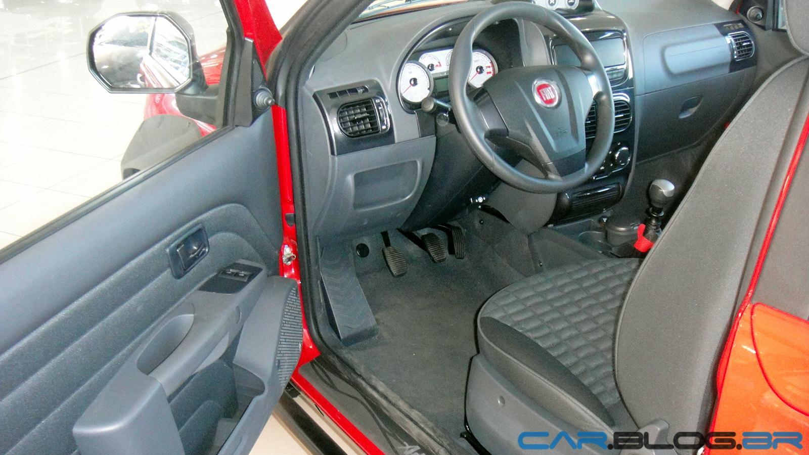 pick-up Fiat Strada recebeu uma reformulação estilística em sua
