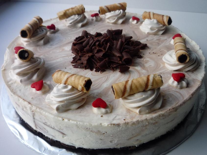 ... cheesecake or non bake Rum & Raisins Cheesecake, both of them voted