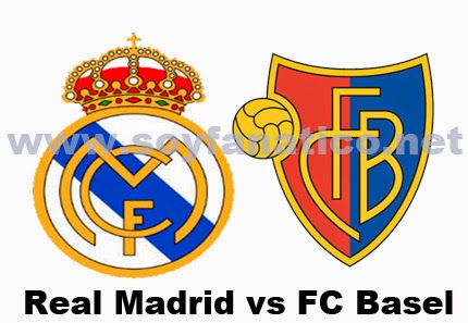 Real Madrid vs Fc Basel 2014