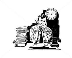 jovem trabalhador frustrado