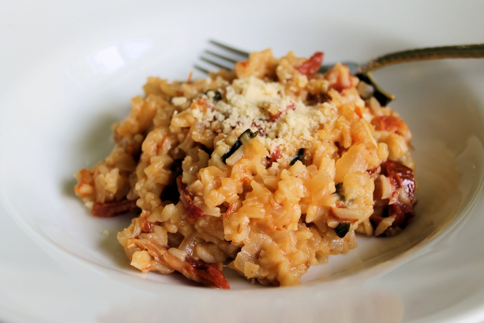 Savoir Faire: Sun Dried Tomatoes and Basil Risotto