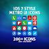 iOS 7 Style – Metro UI Icons