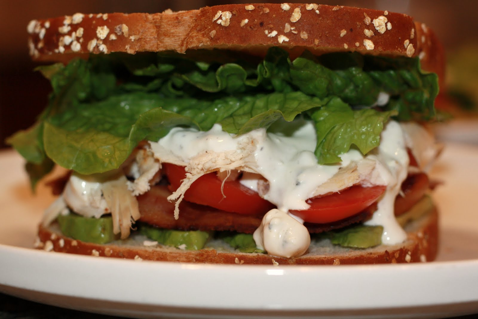 what's for dinner?: cobb salad/cobb sandwich... 15 minutes