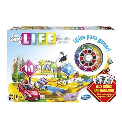 JUGUETES - THE GAME OF LIFE : Mi profesión preferida  Juego de Mesa | Hasbro 04000 | Jugadores: 2-4 | A partir de 8 años  Comprar en Amazon España