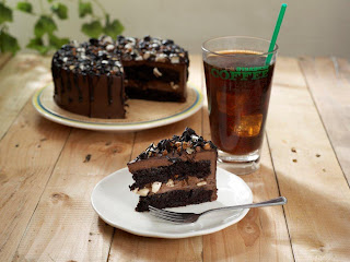 Starbucks Rocky Road Cake