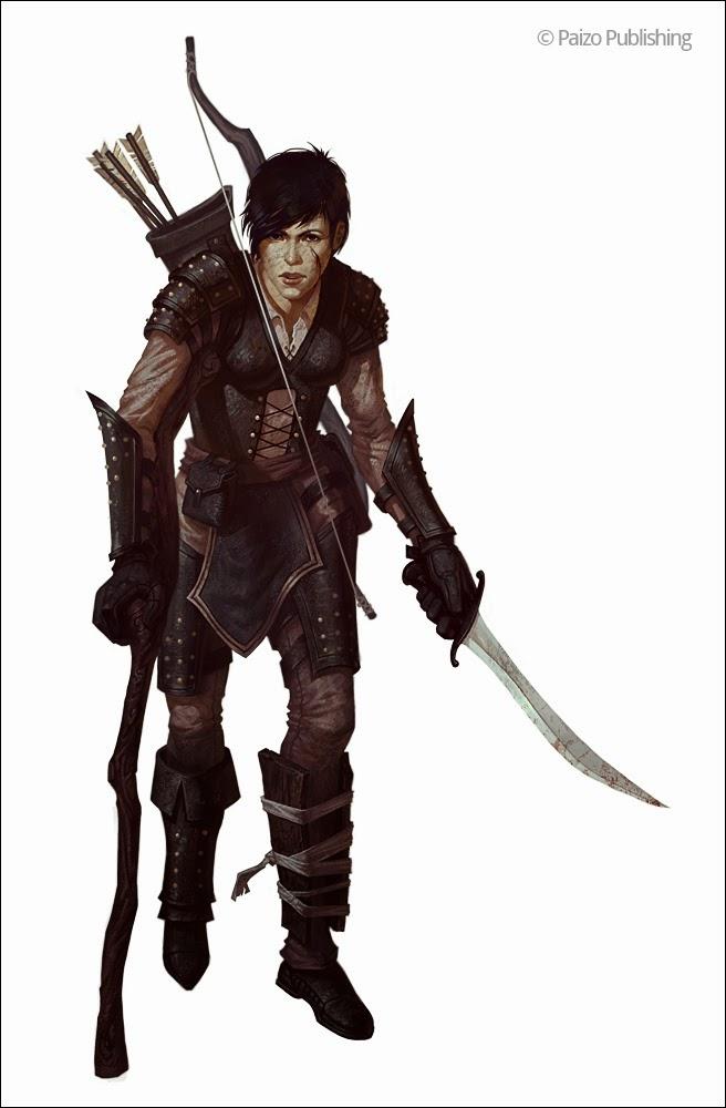 D D Character Design : Jon neimeister art pathfinder characters