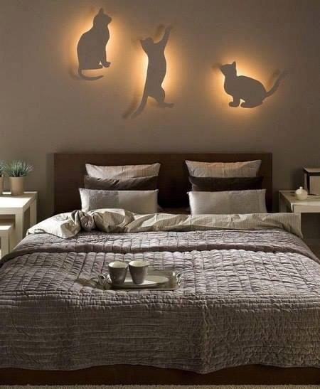El blog de Lorenna: Ideas para decorar la pared de una habitación