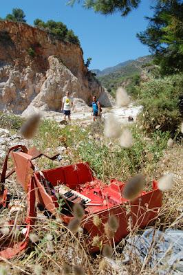 Los Verdes Rio Chillar Cleanup
