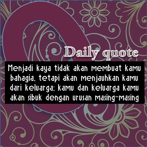 quote bahasa menjadi kaya tidak akan membuat kamu