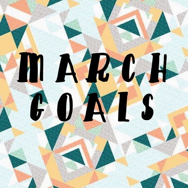 Hard Parade: Goals for March