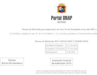 Resultados examen UNA PUNO 2015 Examen General Universidad Nacional del Altiplano UNAP 7 de Junio