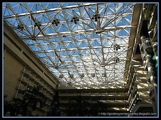 atrium at Orlando International Airport