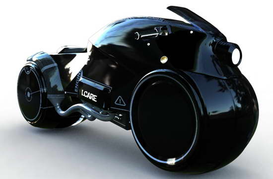 Future Tron Motorcycle