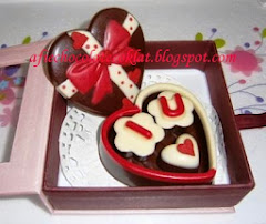 CHOC SET LOVE BOX ~ SIZE 'S' @RM 25 (MOQ 2SETS)
