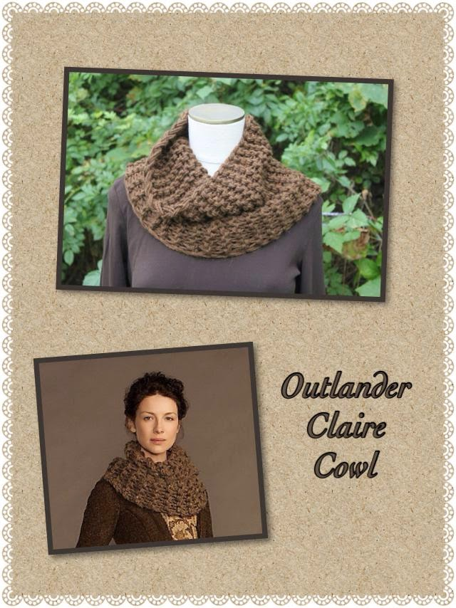 Knitting Pattern For Claire s Cowl : Celtic Heart Knitting and Quilting: Outlander Claire Cowl #2