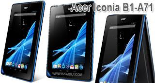 Harga Dan Spesifikasi Acer Iconia B1-A71