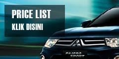 Price List Mitsubishi Agustus 2018