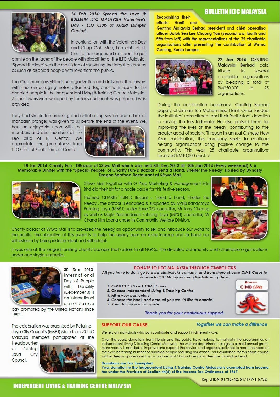 ILTC Malaysia Bulletin 2014 - Page 4