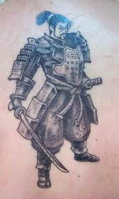 Fotos e Imagens de Tatuagens de Samurai