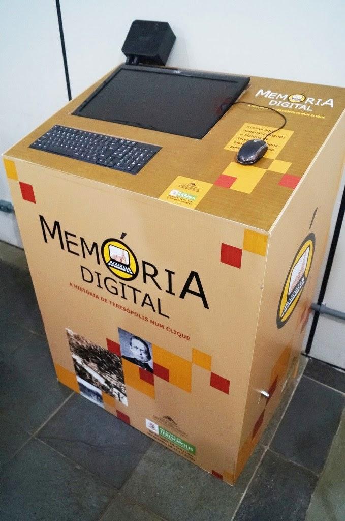 """O terminal """"Memória Digital – A História de Teresópolis em um clique"""" começa a funcionar em maio"""