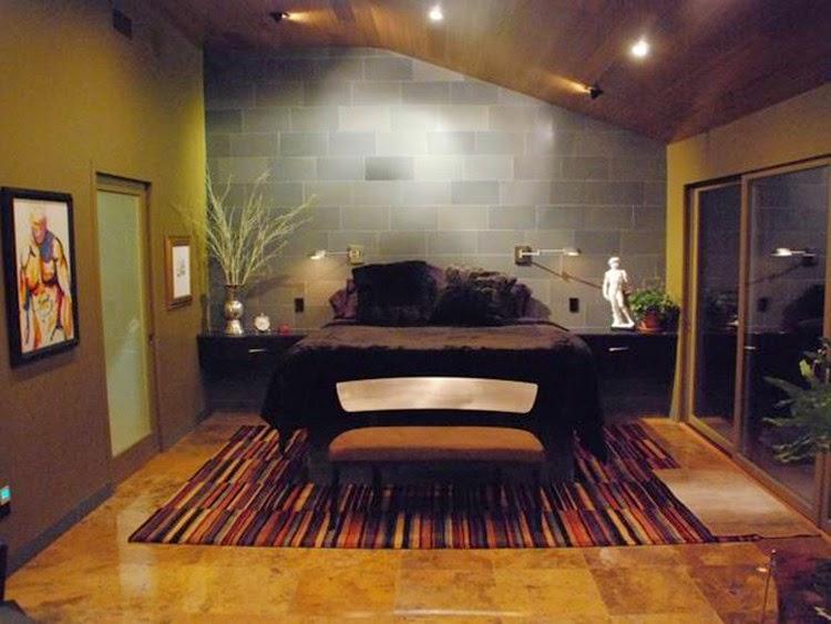 Desain Keramik Kamar Tidur Rumah Minimalis Untuk Kamar Sempit