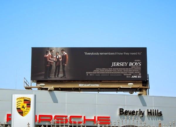 Jersey Boys movie billboard