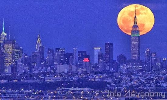 Bulan Terlihat Besar Saat Baru Terbit, Ini Sebabnya