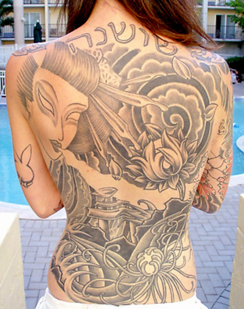 Best tattoo girl collection in the world - Anime Tattoos
