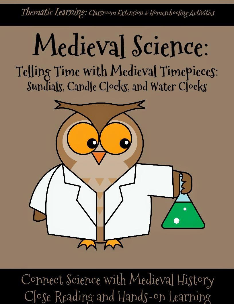 http://www.teacherspayteachers.com/Product/Medieval-Science-Sundials-Candle-Clocks-and-Water-Clocks-1492029