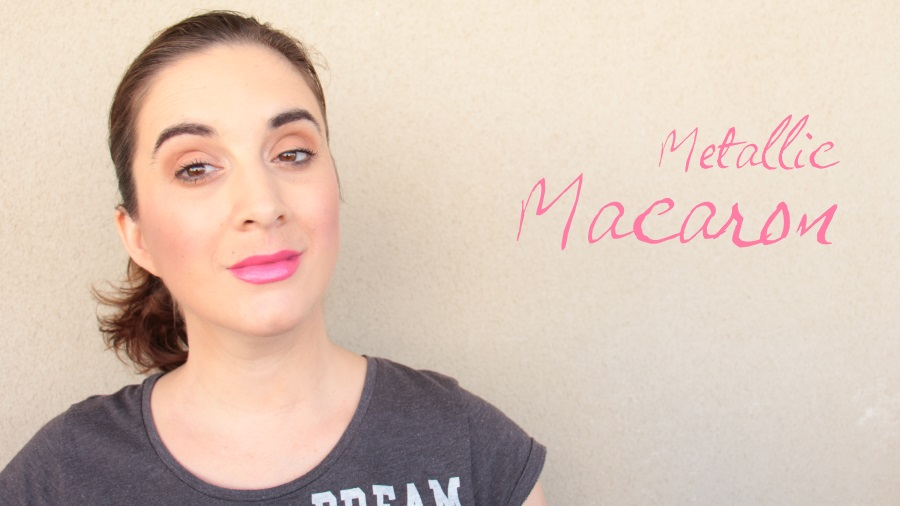 swatch metallic macaron melted too faced