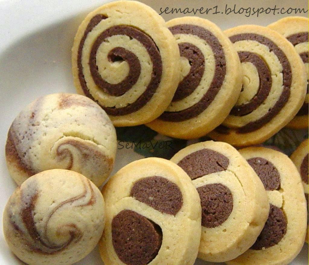 Çikolatalı Spiral Kurabiye Tarifi
