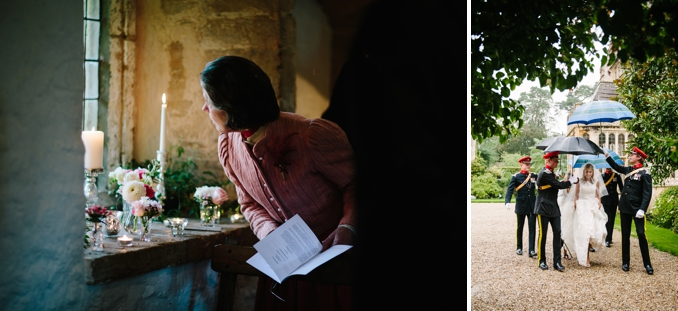 Fergus and Christina's chic military wedding at Brympton House by STUDIO 1208