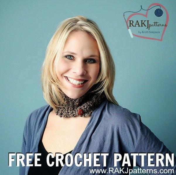 www.RAKJpatterns.com, FREE crochet pattern, neckwarmer, cowl, crochet