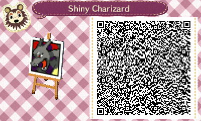 Shiny Charizard Pattern