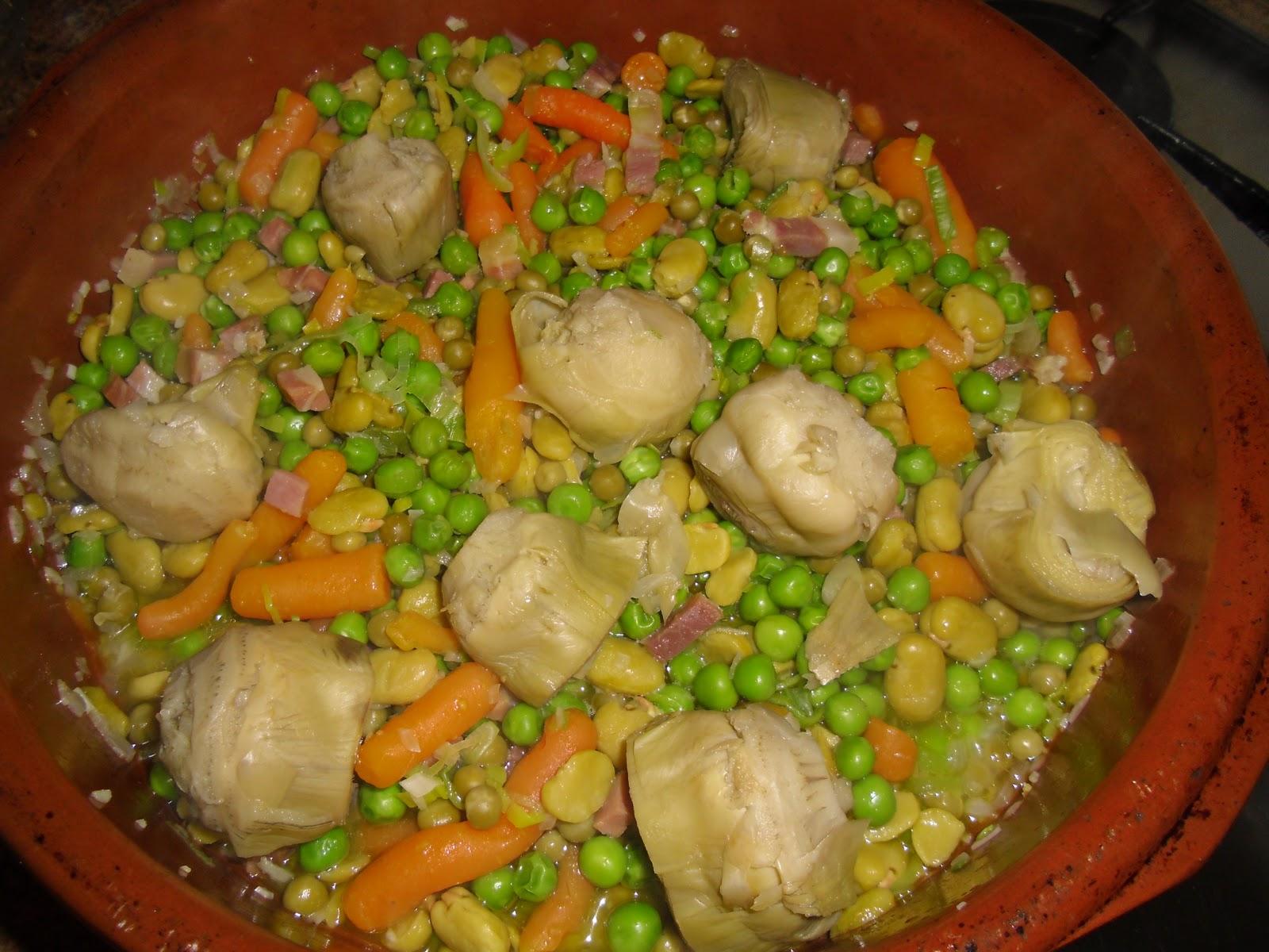 Menestra de verduras - Como preparar menestra de verduras ...