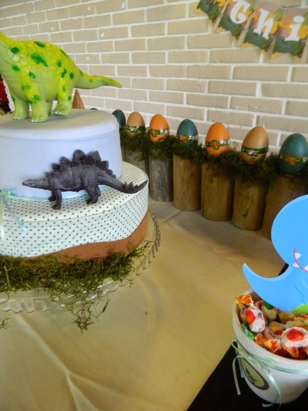 Cumpleaños temático de Dinosaurios