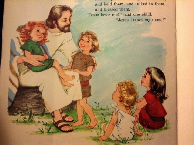 how to talk to a child about jesus