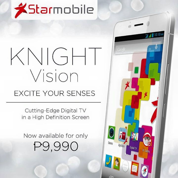 Starmobile KNIGHT Vision: Specs, Price and Availability