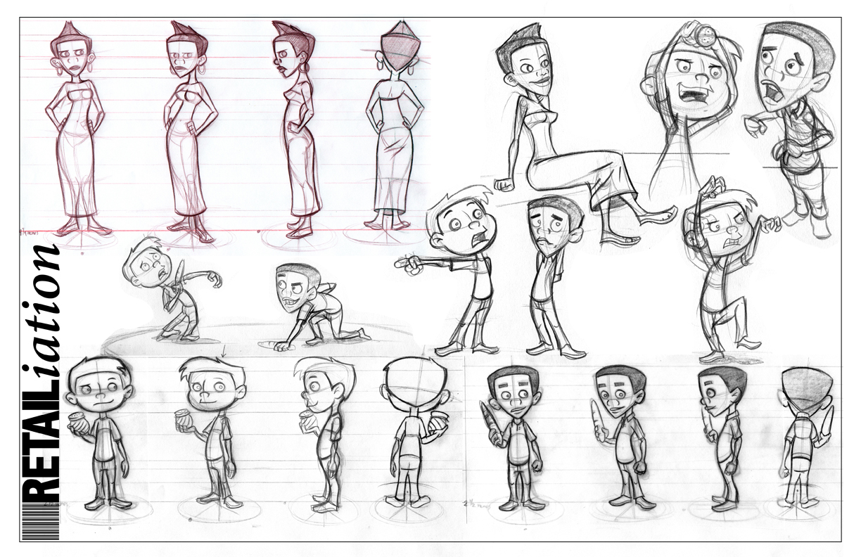 Character Design Style Sheet : The lowedown official of casey lowe