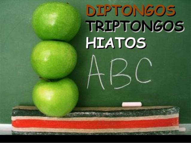 Diptongos, triptongos e hiatos-1