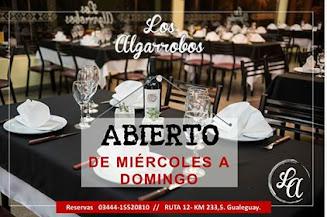 #LosAlgarrobos, especialistas en crear buenos momentos