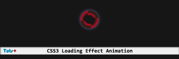 css3 loading animation effect