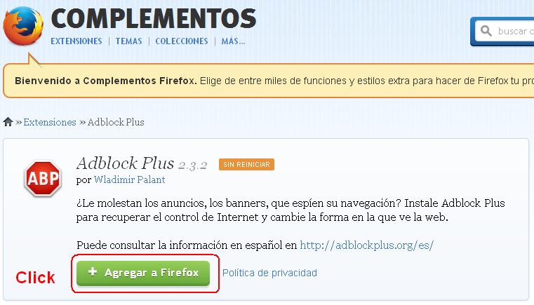 Cei Solucion Bloquear Ventanas Emergentes En Mozilla Firefox Y