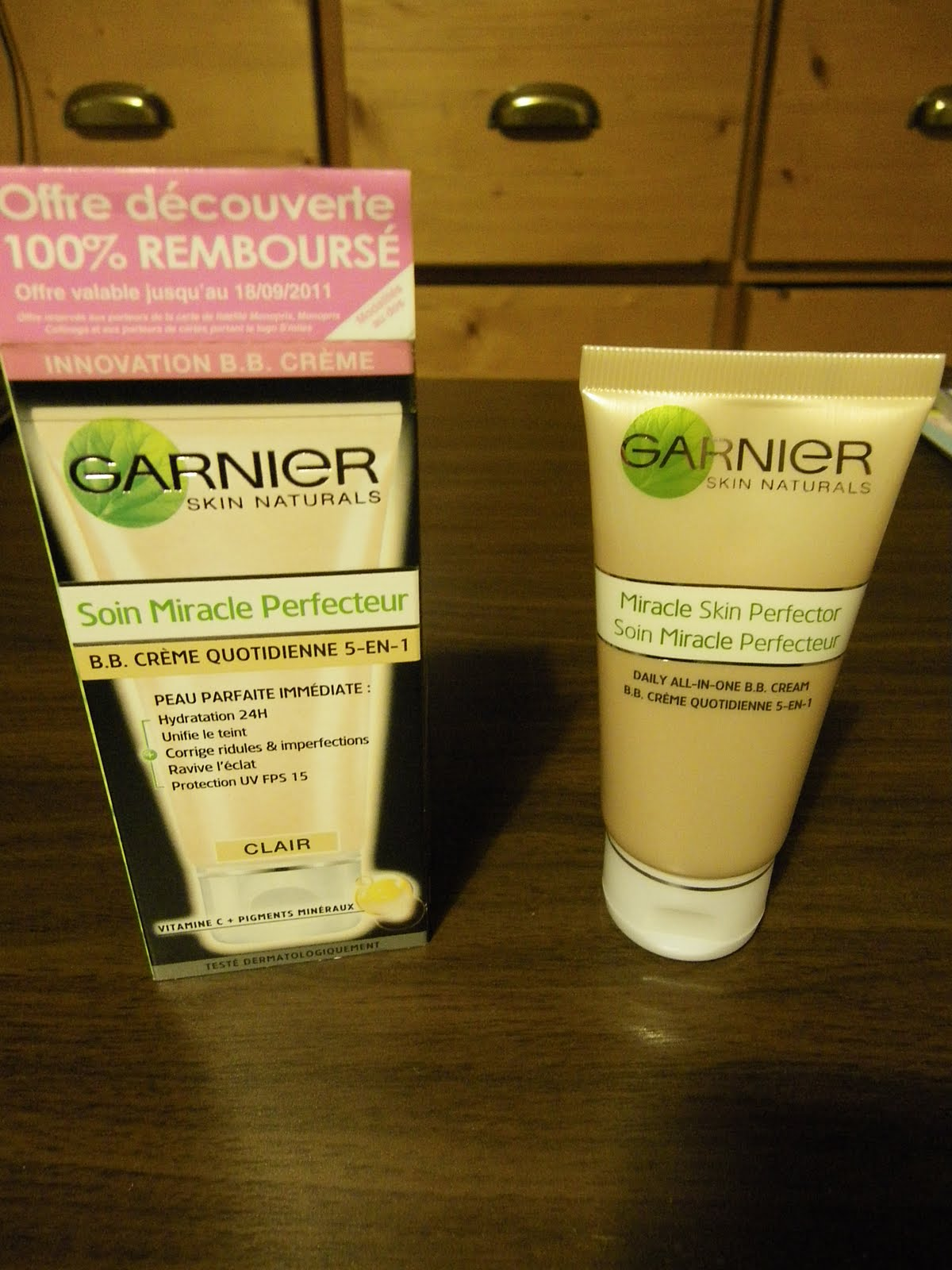 beauty tests tester la bb cream de garnier gratuitement. Black Bedroom Furniture Sets. Home Design Ideas